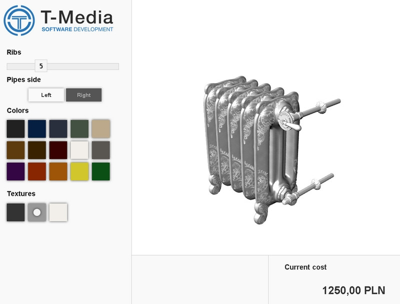 3D Configurator - powerful tool for sale